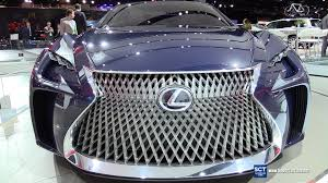 lexus vehicles usa 2017 lexus lf fc concept exterior walkaround 2016 detroit auto