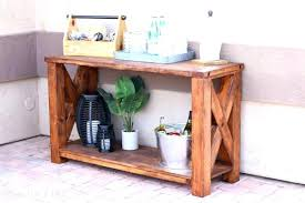 Diy Console Table Plans Console Table Plans Free U2013 Launchwith Me