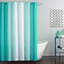 Shower Curtains Bed Bath And Beyond Blaire Shower Curtain In Peacock Blue Bed Bath U0026 Beyond