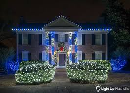 blue white christmas lights blog light up nashville
