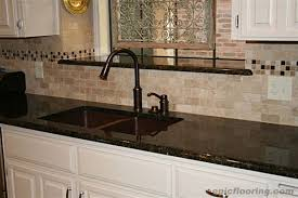 Tile Backsplash Ideas With Black Granite Countertops Home Design - Granite tile backsplash ideas