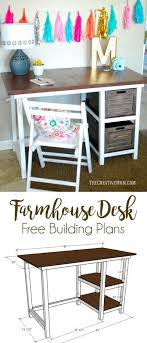 child desk plans free farmhouse desk free building plans this is a fun and easy build