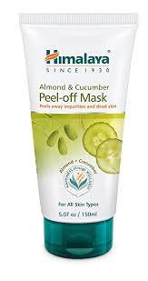 Masker Himalaya himalaya almond cucumber peel mask removes