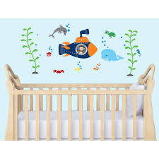 and stick wall murals nautical wall art for nursery room peel and stick wall murals nautical wall art for nursery room