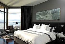 Black And Grey Bedroom Curtains How To Use Dark Curtains To Shape A Dramatic Cozy Interior