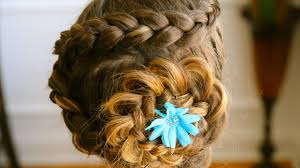 hairstyles jora tutorial cute hairstyles for long hair dutch flower braid tutorial youtube