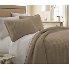 Taupe Coverlet Taupe Quilt Set Wayfair