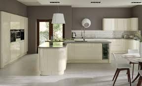 modern handleless kitchens strada gloss ivory u2013 korona kitchens