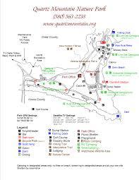 Oak Mountain State Park Trail Map by Quartz Mountain Nature Park Main Page