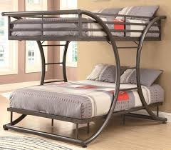 Stylish Queen Twin Bunk Bed With Twin Over Queen Bunk Bed - Queen over queen bunk bed