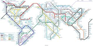 Santiago Metro Map by Gray U0027s Metro Style World Map 1680x845 Imgur