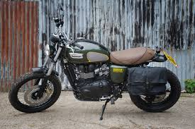 spirit of the 70s barbour triumph scrambler autoerotic