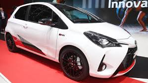 toyota yaris grmn is a supercharged hatch with wrc chops