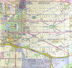 Map Washington Dc City Map Of Washington Dc U0026 Eastern Corridor Boston To Dc Itm