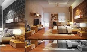 Wood Panel Windows Designs Luxury Bedroom With Feature Wall And Glass Panel Window Rendered
