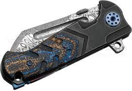 Unique Knives Andre De Villiers Knives Custom Mini Tac Butcher Flipper 3