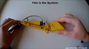 lego technic bucket system for compact excavators youtube