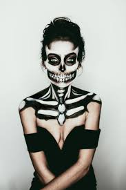 Skeleton Face Paint For Halloween by Best 25 Halloween Skeleton Makeup Ideas On Pinterest Skeleton