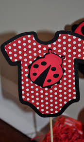 Ladybug Baby Shower Centerpieces by R R Creations Ladybug Baby Shower Centerpiece