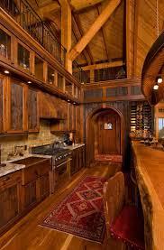Log Home Kitchens 186 Best Log Home Decor Images On Pinterest Log Cabins
