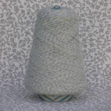 a collection of 100 mouline acrylic yarns for knitting and