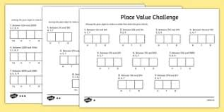 place value sheets ks2 place value worksheets primary resources place page 1