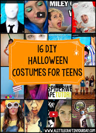 Diy Halloween Coustumes by Diy Halloween Costumes For Teens A Little Craft In Your Day