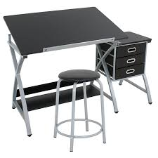 Martin Drafting Table Amazon Com Martin Dorchester Split Top Craft Table