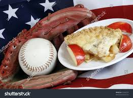American Flag Pie Recipe All American Baseball Apple Pie On Stock Photo 10245253 Shutterstock