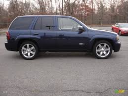 chevrolet trailblazer 2008 imperial blue metallic 2008 chevrolet trailblazer ss 4x4 exterior