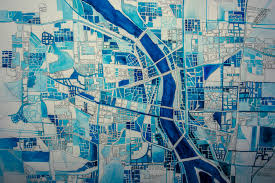 Portland Map by Coffey Break Illustrations And Picture Making By Samala
