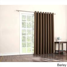 Insulated Patio Doors Decoration Sliding Door Curtain Thermal Insulated Blackout Patio