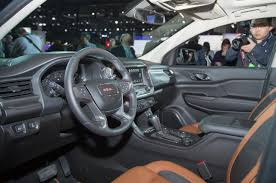 gmc terrain back seat 2018 gmc acadia review design specs 2018 2019 best cars