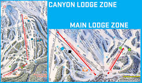 Mountain Time Zone Map by Unbound Terrain Park Trail Map Mammoth Mountain