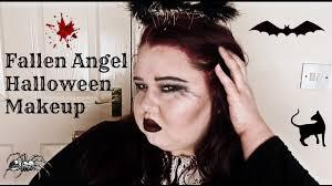 spirit halloween aurora co fallen angel halloween makeup youtube
