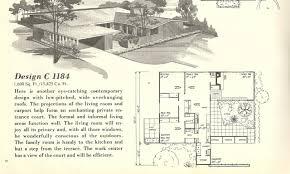 8 mid century modern floor plans house plan authentic ingenious