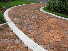 Concrete Driveway Paver Molds by Cream Border On Recycled Brick Outside Projects Pinterest