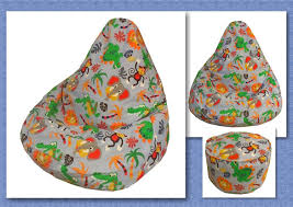kids bean bag sewing pattern children chair beanbag lazy