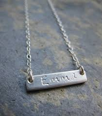 sterling name necklace images Personalised sterling silver name pendant heather stephens jpg