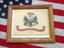 Military Flag Order Framed American Military Flag United States Army Flag
