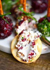 cranberry pecan mini goat cheese balls on timeout