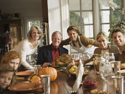 family at thanksgiving dinner how to prevent losing your thanksgiving to black friday the