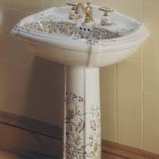 Pedestal Bathroom Sink by K14191fl0 K14177fl0 English Trellis Fixtures Pedestal Bathroom
