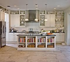 Open Kitchen Design With Island Simple Open Kitchen Designs