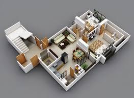 Flats Floor Plans 98 Best 3d Floor Plans Images On Pinterest Bedroom Floor Plans