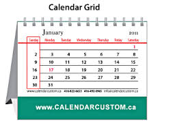 Small Desk Calendars Desktop Calendars Custom Design And Print