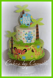 jungle baby shower cakes fisher price jungle theme baby shower cake baby shower cakes