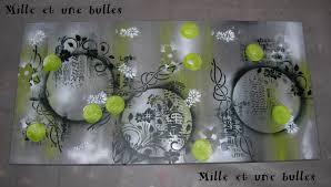 Tableau Abstrait Rouge Et Gris by Tableau Mural Blanc Vert Et Noir U2013 Chaios Com
