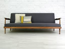 Buy Mid Century Modern Furniture by Guy Rogers Retro Vintage Teak Mid Century Danish Style Sofa Bed