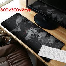 map pad 800x300x2mm large size map mouse pad for laptop computer